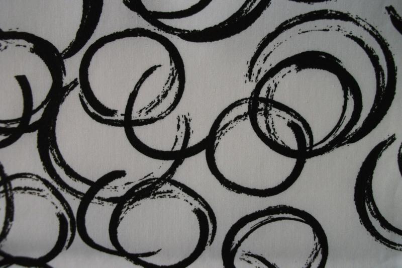 Cirkel wit/zwart
