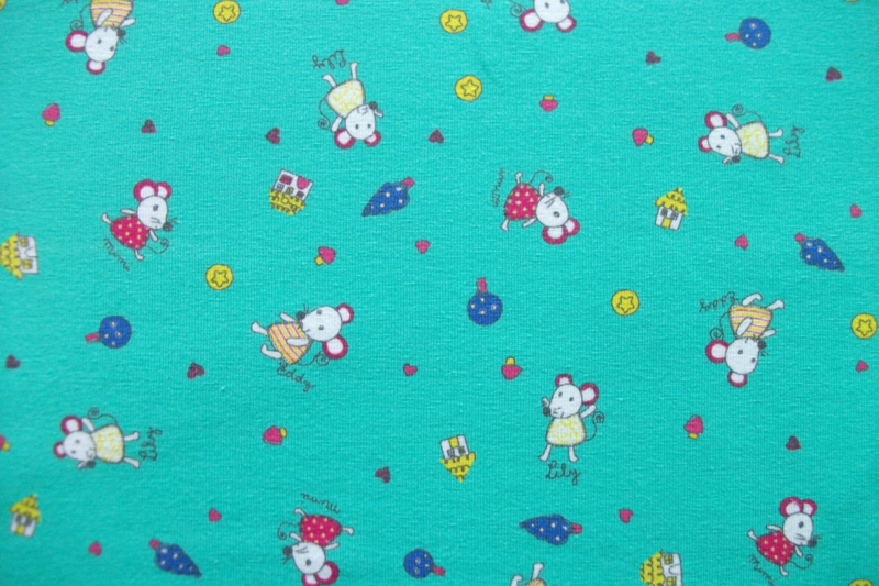 Tricot lily mouse