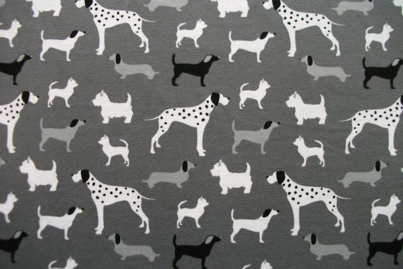 Tricot honden grijs