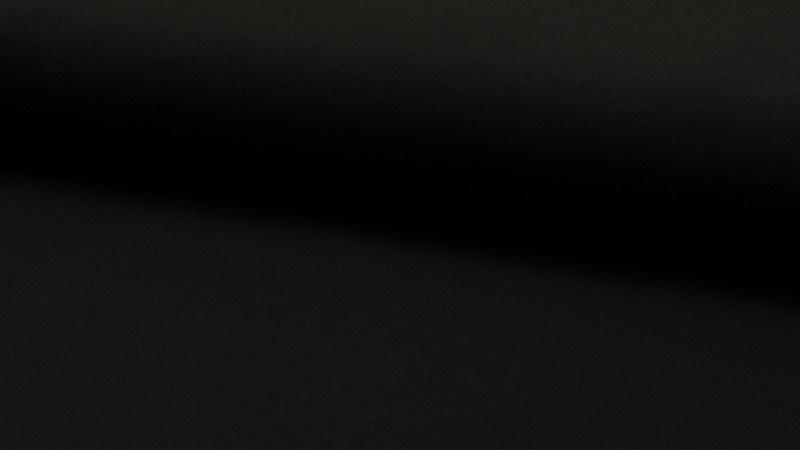 Tricot effen zwart