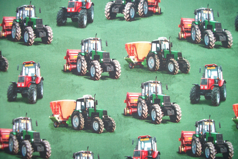 Tricot farm machines digitale print