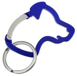 sleutelhanger Hondenkop