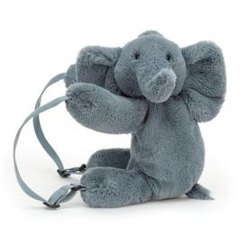 Jellycat Rugzak Olifant - Huggady Elephant Backpack