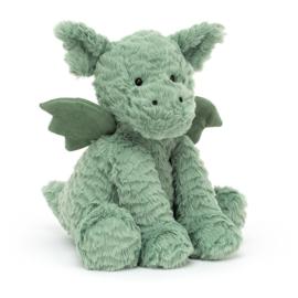 Jellycat Fuddlewuddle Dragon - Knuffel Draak