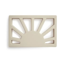 Mushie Bijtring Zon Sun Teether - Shifting Sand