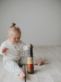 Mushie Stapeltoren Stacking Cups - Retro