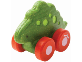 Plantoys Houten Dino Car - Stego
