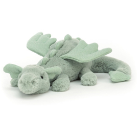 Jellycat Knuffel Draak - Sage Dragon Little
