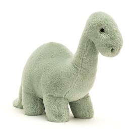 Jellycat Fossilly Brontosaurus - Knuffel Dino (26 cm)