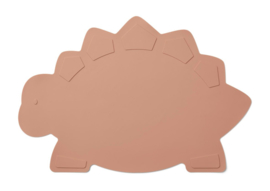 Liewood Placemat Tracy - Dino Dark Rose