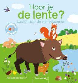 Uitgeverij Clavis Geluidenboekje - Hoor je de Lente? +2jr
