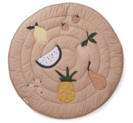 Liewood Speelkleed Gitta Activity Blanket - Fruit Pale Tuscany