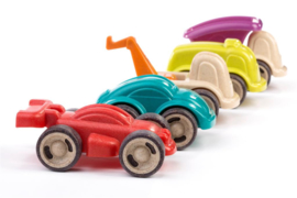 Miniland Mini Mobiel Auto's (12 cm) + 18maand
