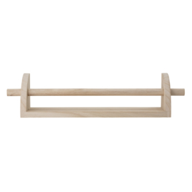 Bloomingville Wandplank Mingus (hang of leg)- Hout