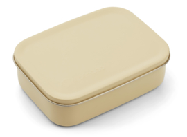 Liewood Lunchtrommel RVS Jimmy Lunchbox - Dino Wheat Yellow (Extra groot)