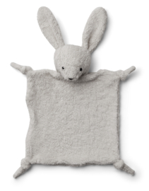 Liewood Knuffeldoek Lotte Cuddle Cloth - Rabbit Pale Grey
