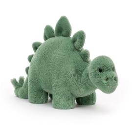 Jellycat Fossilly Stegosaurus - Knuffel Dino (16 cm)