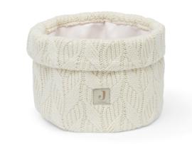 Jollein Commode Mandje Spring Knit - Ivory