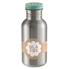 Blafre Drinkfles RVS - BlauwGroen / Jade (500ml)