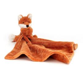 Jellycat Bashful Fox Soother - Knuffeldoek Vos