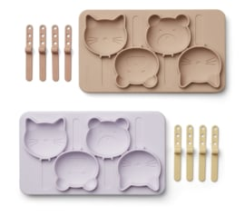 Liewood IJsvormen set Manfred Ice Pops - Classic Light Lavender Multi Mix