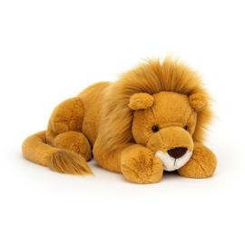 Jellycat Big Cats Louie Lion - Knuffel Leeuw Huge (55 cm)