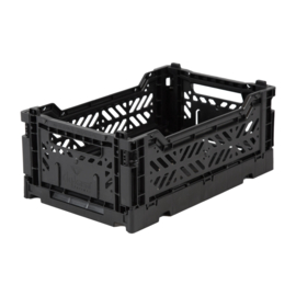 AyKasa Folding Crate Mini Box - Black