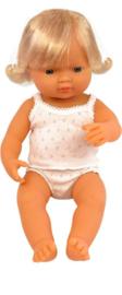 Miniland Babypop Europees - Girl (38 cm)