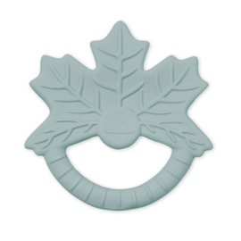 CamCam rubber bijtspeeltje blad - Maple Leaf Petrol