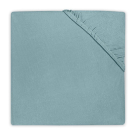 Jollein Hoeslaken Jersey - Stone Green (60 x 120 cm)