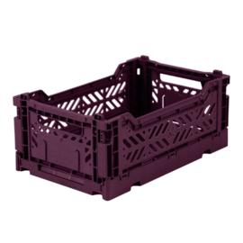 AyKasa Folding Crate Mini Box - Cherry Red