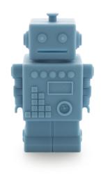 KG Design Spaarpot Robot - Blauw