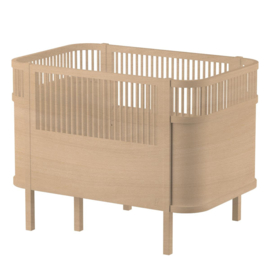 Sebra Kili Baby en Junior Bed Wooden Edition - Hout