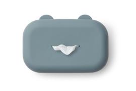 Liewood Billendoekjes Opbergdoos Emi - Whale Blue