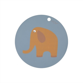 OYOY Placemat - Elephant