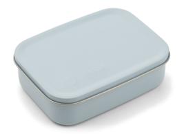 Liewood Lunchtrommel RVS Jimmy Lunchbox - Mr Bear Sea Blue (Extra groot)