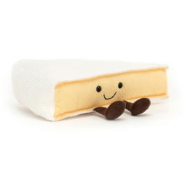 Jellycat Amuseable Brie - Knuffel Kaas Brie (9 cm)