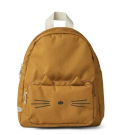 Liewood Rugzak Allan Backpack - Cat Golden Caramel