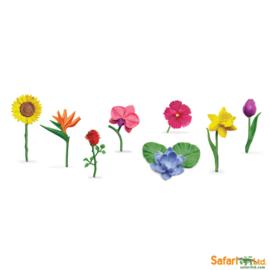 Safari Speelfiguren Toob Set - Bloemen