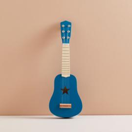 Kids Concept Houten Gitaar - Blauw