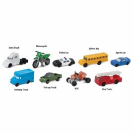Safari Speelfiguren Toob Set - Voertuigen op de Weg