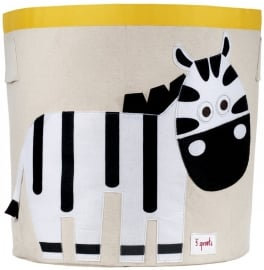 3 Sprouts Opbergmand - Zebra