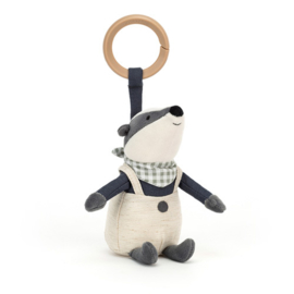 Jellycat Little Rambler Badger - Riverside Activity Toy Das
