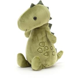 Jellycat Woddletot Dino - Knuffel Dinosaurus