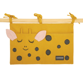 Roommate Box Opbergzak Giraffe - Yellow Ochre