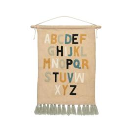 KidsDepot Wandkleed Alfa ABC - Alfabet