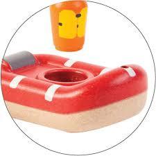 Plantoys Houten Badspeeltje - Reddingsboot