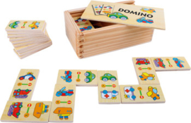 Small Foot  Domino Voertuigen + 3jr