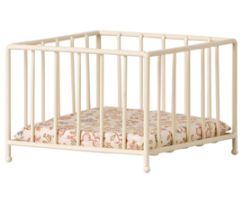 Maileg Metal Playpen Box MY - off white (2021)