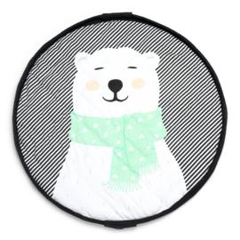 Play and Go Soft Speelgoedkleed en Opbergzak - Polar Bear